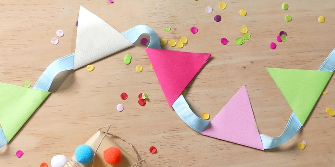 Bostik DIY Singapore Ideas That Stick Bunting project banner