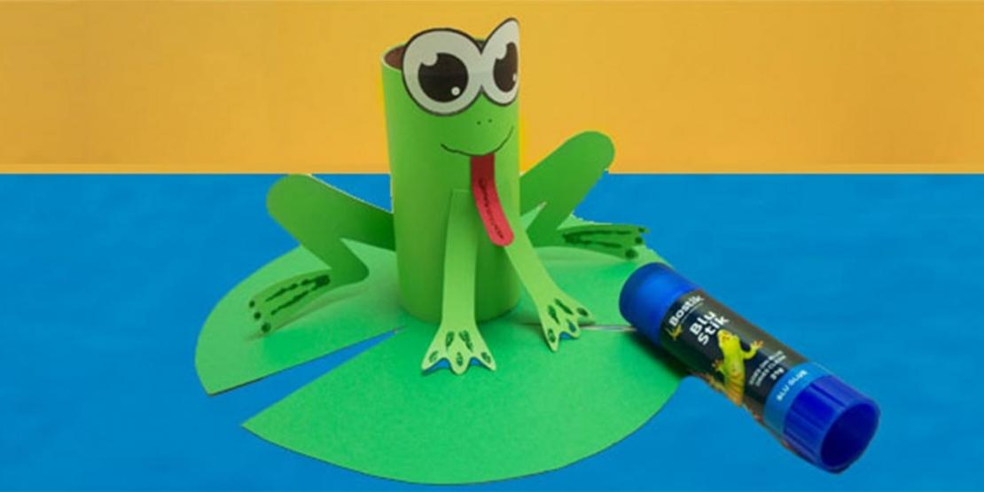 Bostik DIY Singapore Ideas That Stick Frog banner