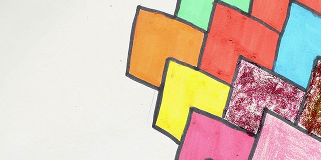Bostik DIY Singapore Ideas That Stick Heart Tesselation Craft banner
