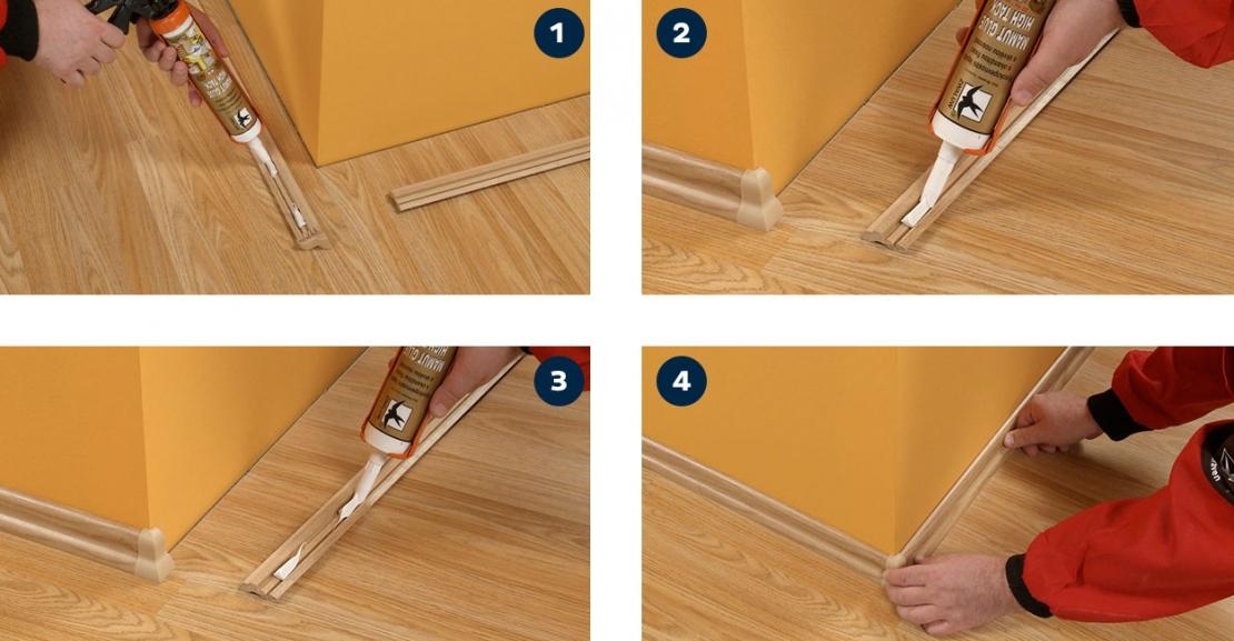 Bostik DIY Greece Mamut Glue High Tack Application 1