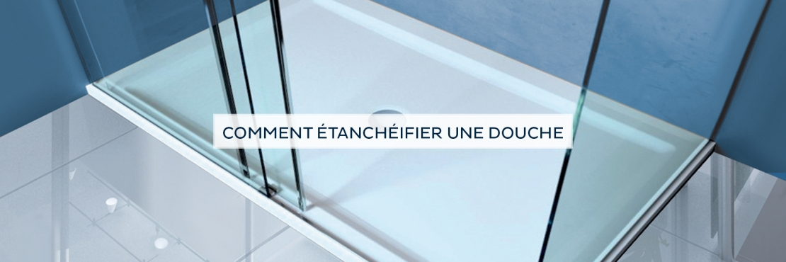 Bostik DIY France tutorial how to seal a shower step banner image