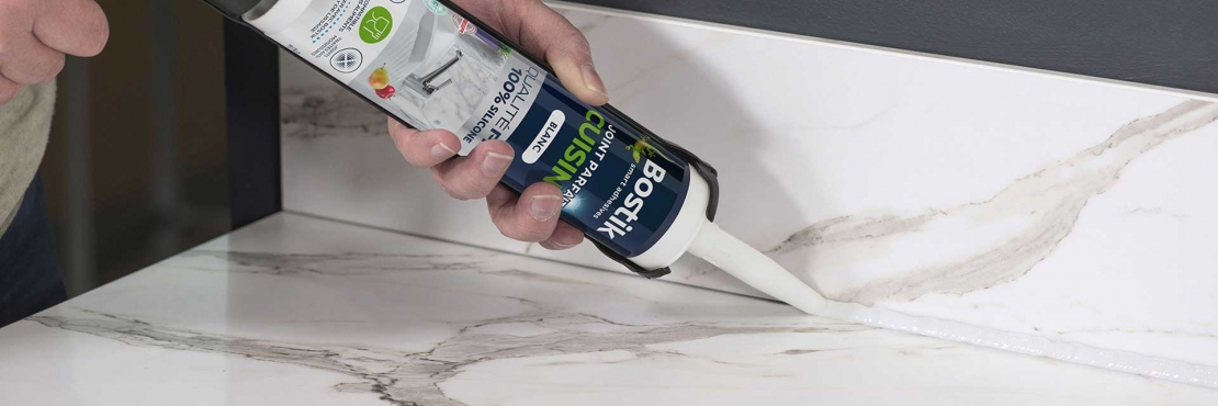 Bostik DIY Lithuania tutorial How to seal a worktop banner image