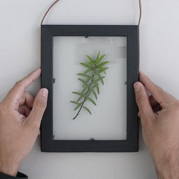 Bostik tuto diy cadre vegetal