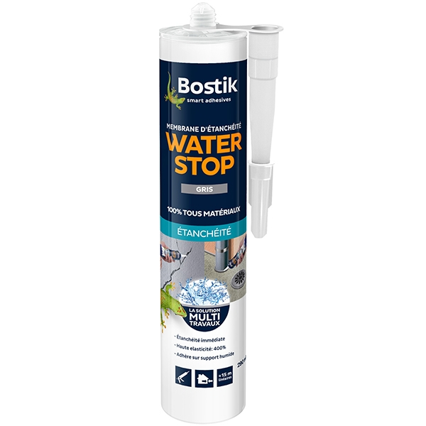 Bostik waterstop cartouche 290ml gris