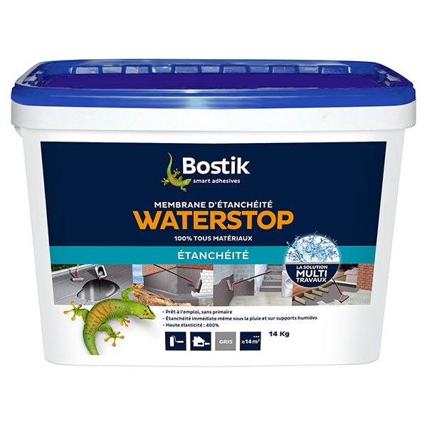 Bostik waterstop pot de 14kg gris