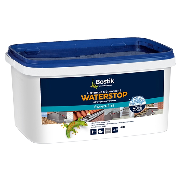 Bostik waterstop pot de 6kg gris