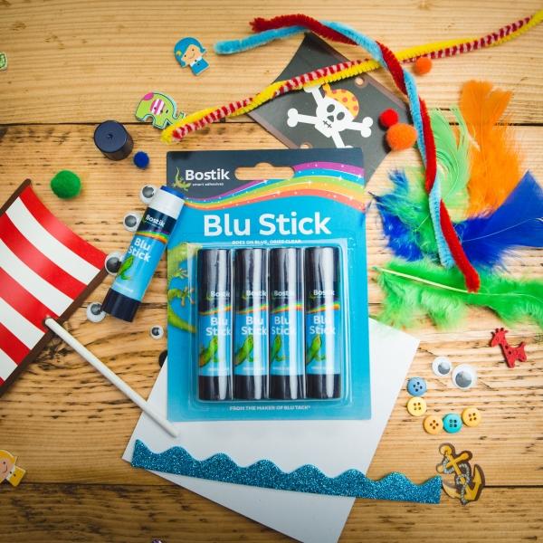 Bostik DIY Blue Stick Quad United Kingdom Impression Version 2