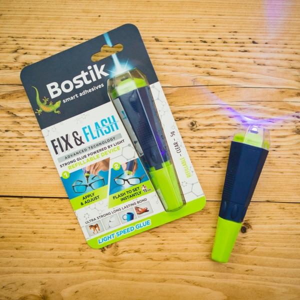 Bostik DIY Fix and Flash Device United Kingdom Impression