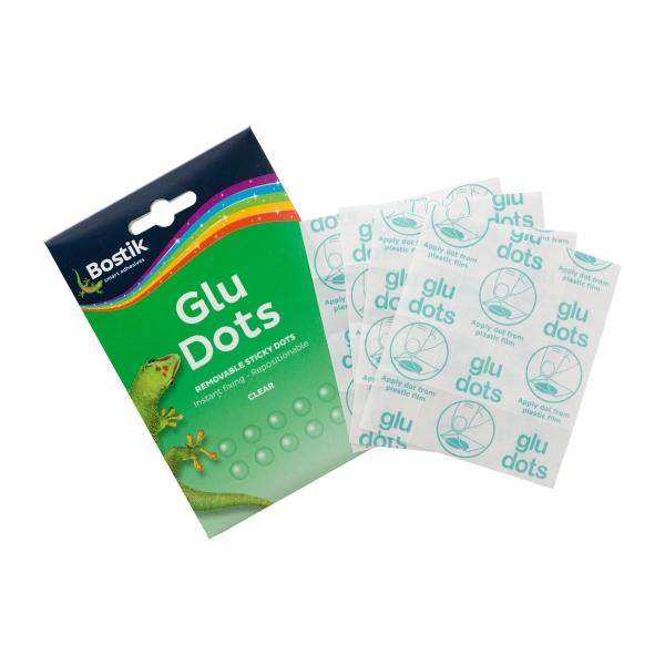 Bostik DIY Removable Glue Dots United Kingdom Packshot Version 2