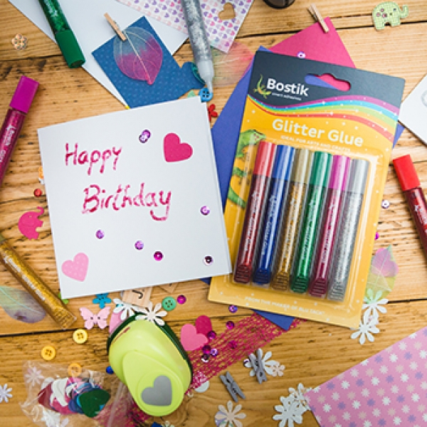Bostik DIY Stationery Range