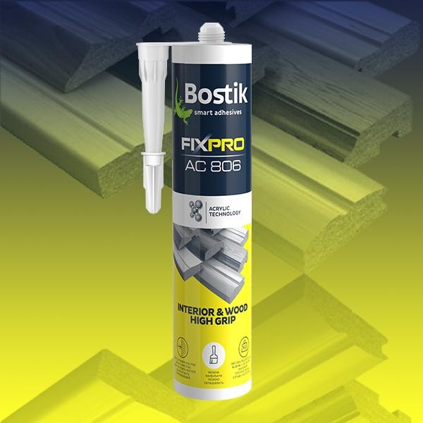 Bostik DIY Ukraine Fixpro Interior Wood High Grip product image