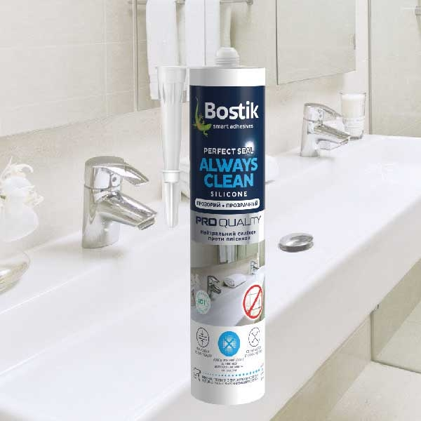 Bostik DIY Ukraine Perfect Seal always clean