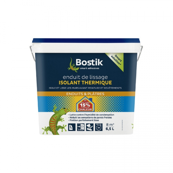 30604241_BOSTIK_Enduit  de lissage isolant thermique_Packaging_avant_HD 6.5L