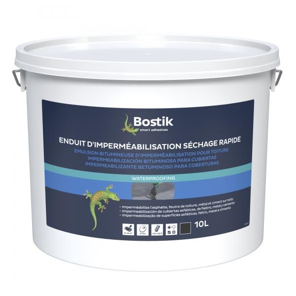 30612343_BOSTIK_ENDUIT D'IMPERMÉABILISATION POUR TOITURE SECHAGE RAPIDE_Packaging_avant_HD 10L