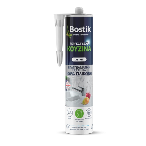 Bostik DIY Greece Sealing Perfect Seal Silicone Kitchen product teaser 600x600
