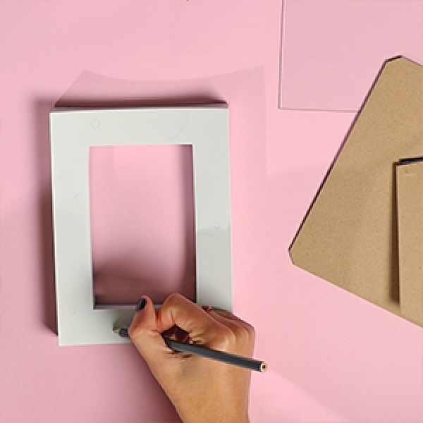 DIY Bostik Indonesia tutorials Wall Art project step 1