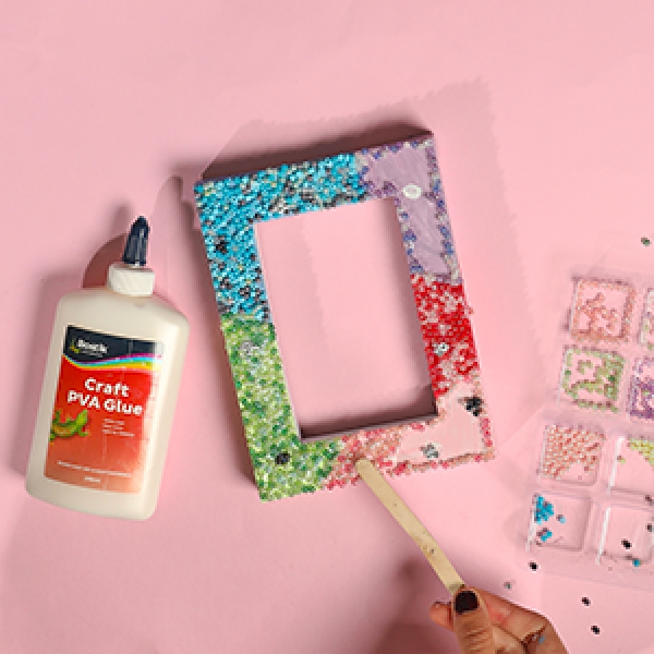 DIY Bostik Indonesia tutorials Wall Art project step 3