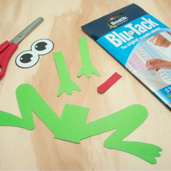 DIY Bostik Indonesia tutorail Bostik Frog Step 3