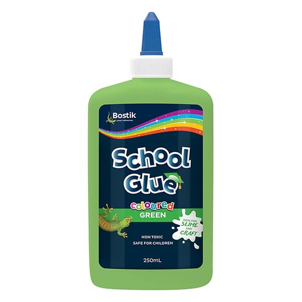Bostik DIY Australia Stationery & Craft School Glue Coloured Green product image