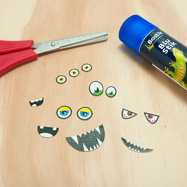 Bostik DIY Australia tutorial Monsters Step 2