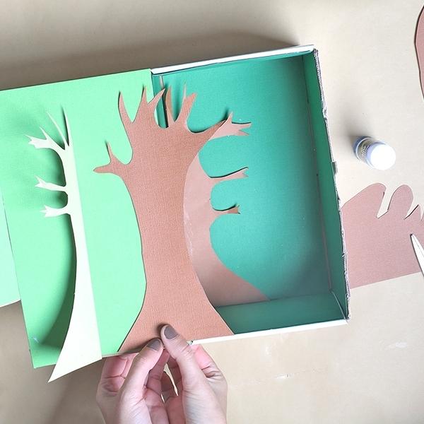 Bostik DIY Australia tutorial rainforest step 3