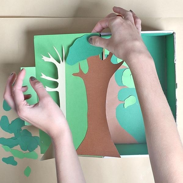 Bostik DIY Australia tutorial rainforest step 4