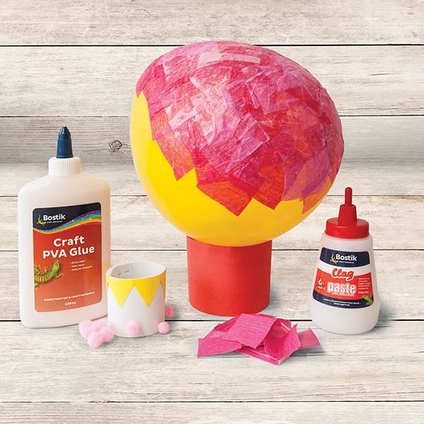 Bostik DIY Australia tutorial hot air balloon step 2
