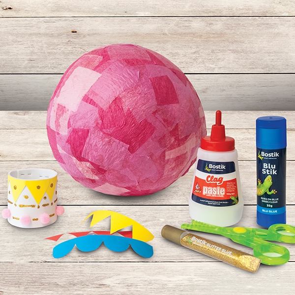 Bostik DIY Australia tutorial hot air balloon step 3