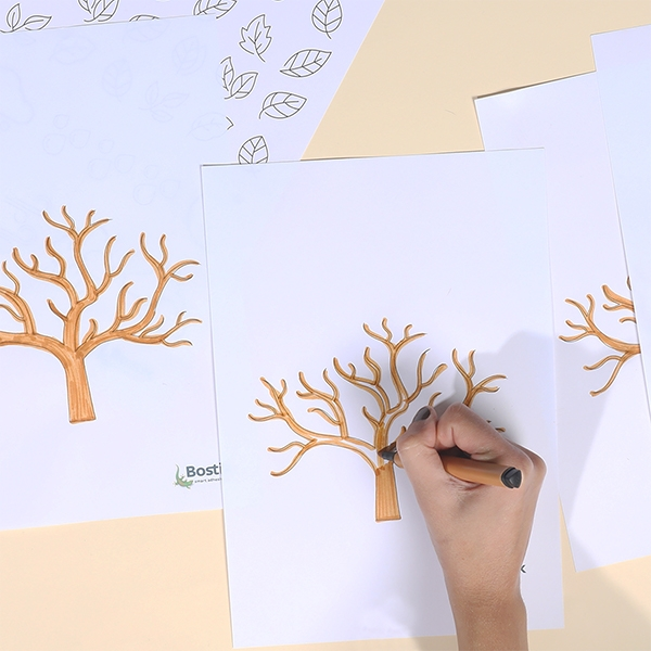 Bostik DIY Australia tutorials weather tree step 1