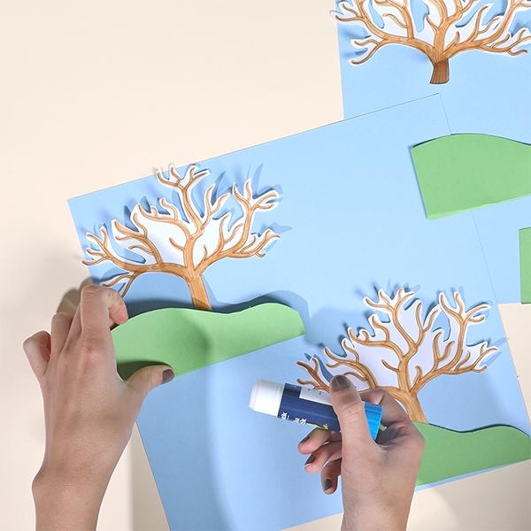 Bostik DIY Australia tutorials weather tree step 2