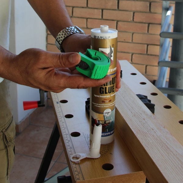 Bostik DIY Greece tutorial Balcony Garden step 5