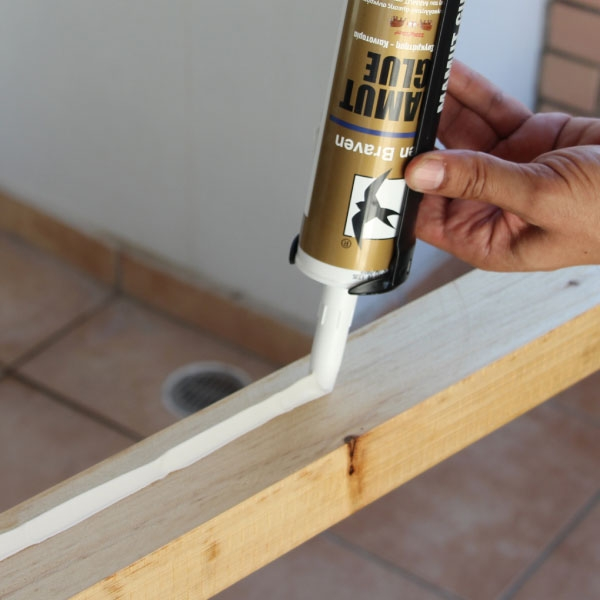 Bostik DIY Greece tutorial Balcony Garden step 7