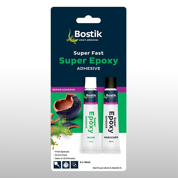 Bostik DIY South Africa Repair & Assembly Super Epoxy product teaser
