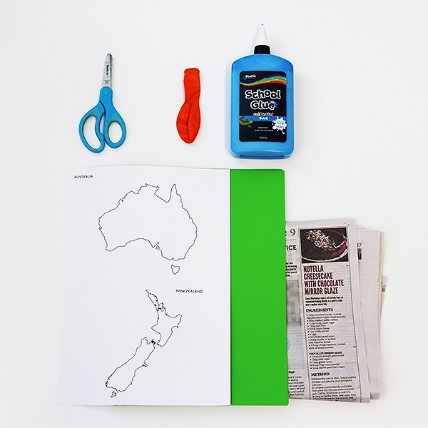Bostik DIY tutorial Australia World Globe Step 1