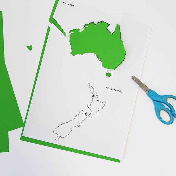 Bostik DIY tutorial Australia World Globe Step 4