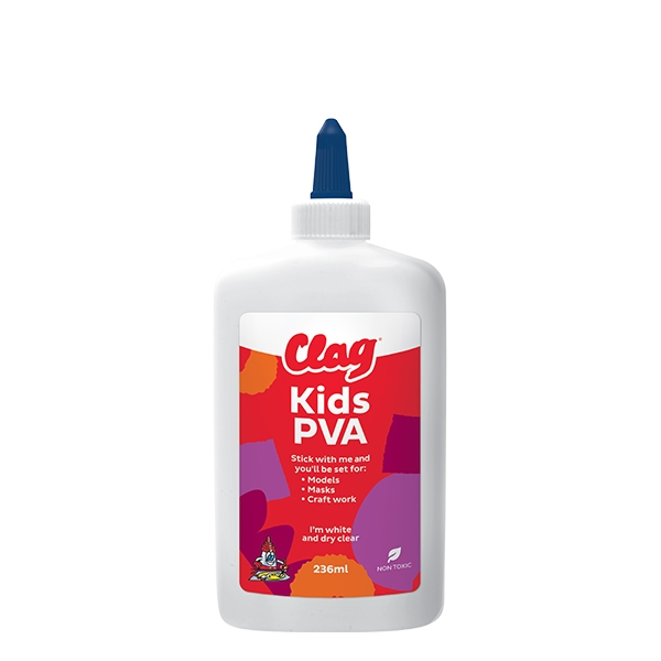 Bostik DIY Australia craft clag Kids PVA 236ml