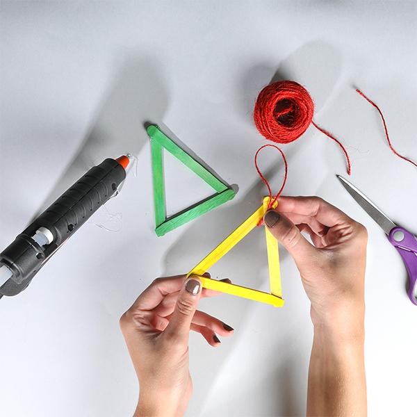 Bostik DIY Australia tutorials Christmas Tree Ornaments step 2