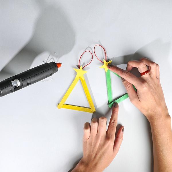Bostik DIY Australia tutorials Christmas Tree Ornaments step 3