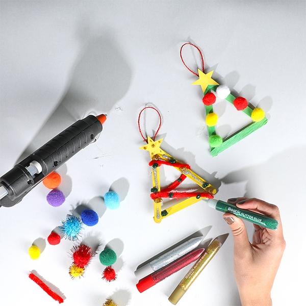 Bostik DIY Australia tutorials Christmas Tree Ornaments step 4