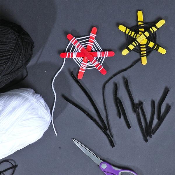 Bostik DIY Australia tutorial Halloween Spiders step 4