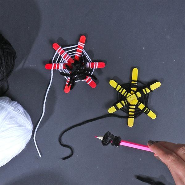 Bostik DIY Australia tutorial Halloween Spiders step 6