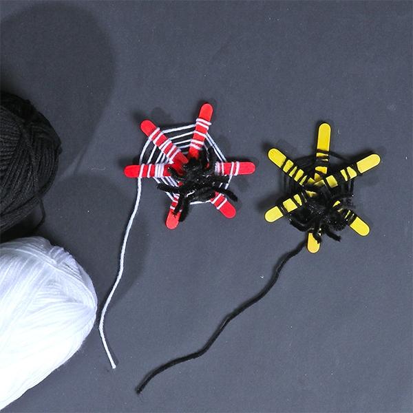 Bostik DIY Australia tutorial Halloween Spiders step 7
