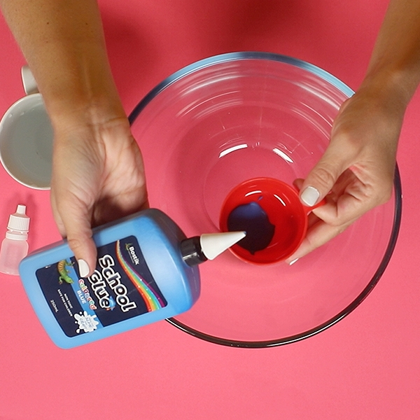 Bostik DIY Australia tutorial Slime Colour Wheel Step 1