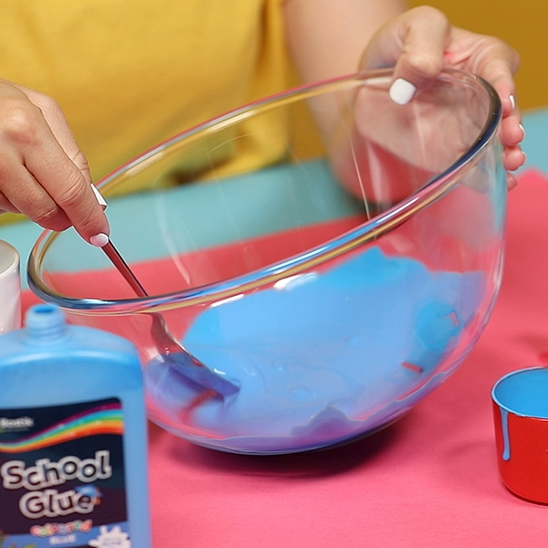 Bostik DIY Australia tutorial Slime Colour Wheel Step 2