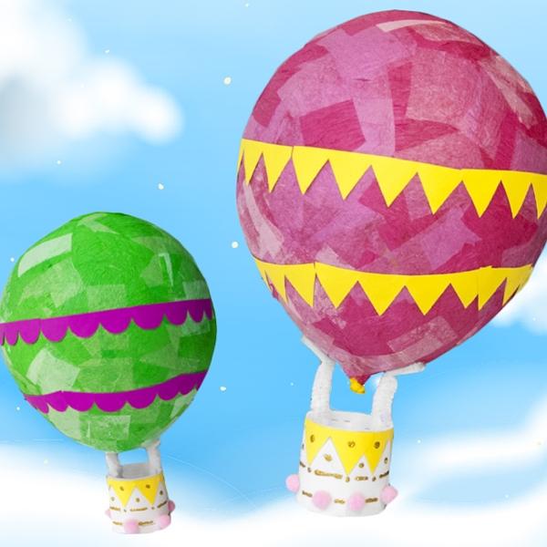 Bostik DIY Australia tutorial hot air balloon step 4