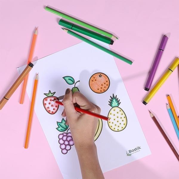 Bostik DIY Malaysia tutorial fruit basket step 2