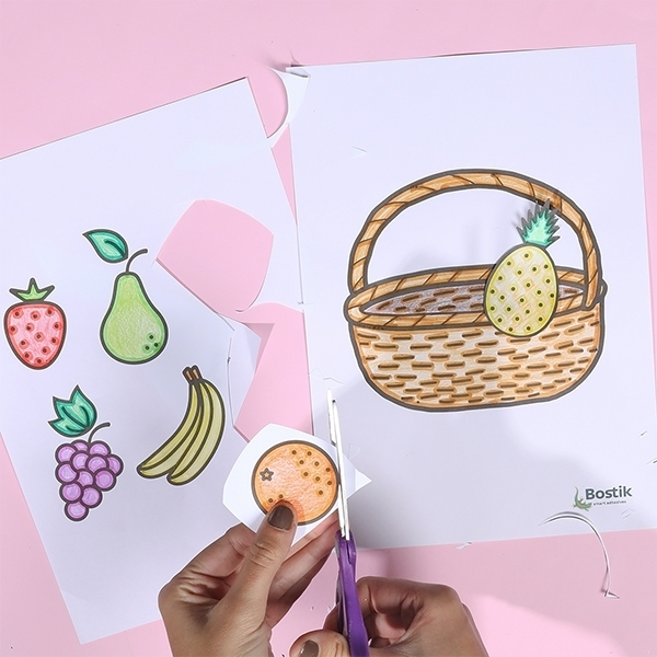 Bostik DIY Singapore Ideas That Stick Fruit Basket step 3