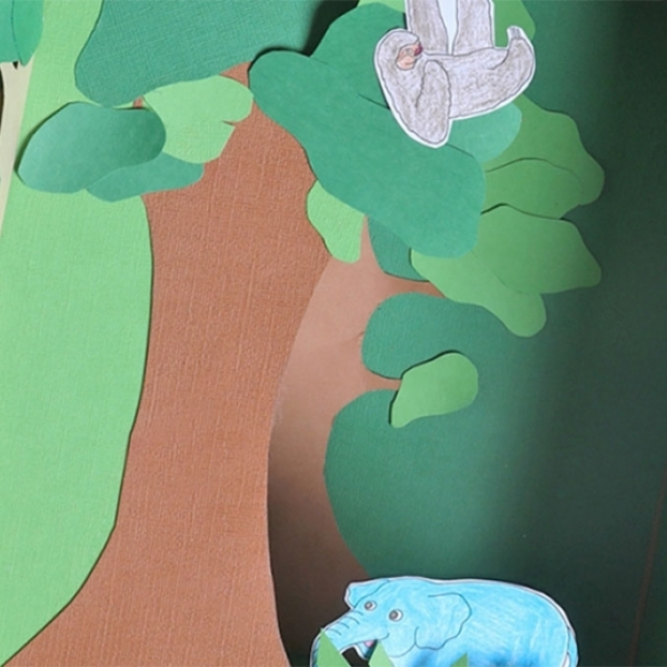 Bostik DIY Singapore Ideas That Stick Tropical Rainforest banner