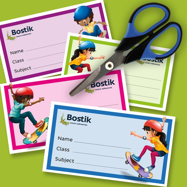 Bostik DIY South Africa Book Labels step 2