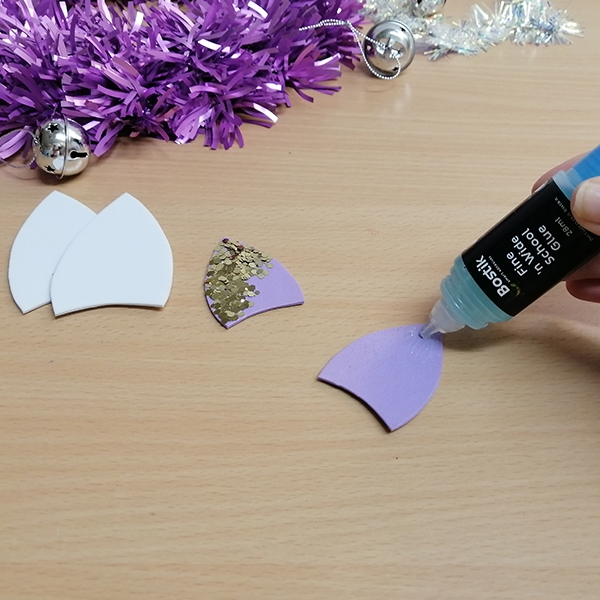 Bostik DIY South Africa Tutorial Christmas Unicorn Baubles step 4